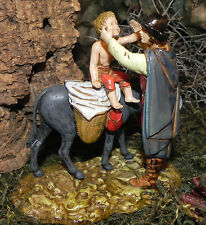 Nativity Scene Villager Figurine Landi Presepio Figura para Pesebre Pastor Mula