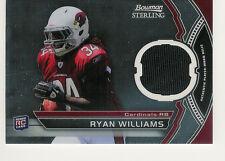2011 BOWMAN STERLING RYAN WILLIAMS JERSEY RC ARIZONA CARDINALS