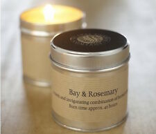 TWO (2) X ST EVAL BAY AND ROSEMARY TIN CANDLES  - NEW