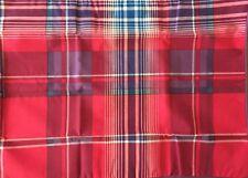 Wamsutta Soft Blend Standard Sham Santa Fe Plaid Pink Purple New