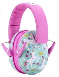 Snug Kids Earmuffs/Hearing Protectors – Adjustable Headband Ear Defenders/Girls