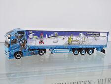 """Herpa 307741 - H0 1:87 - Volvo FH gl. XL gardinenplanen-sz """" schreg - NEW"""