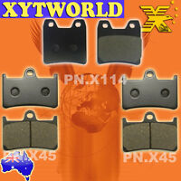 FRONT REAR Brake Pads for YAMAHA XJR 1300 R S 2003 2004