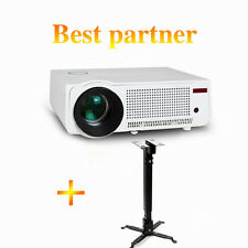 Hanger & 1080P 3D Wifi 5500Ls LED LCD Home Theater Projector HDMI RJ45 TV 3000:1