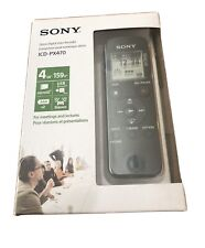 Sony Icd-Px470 4Gb Digital Voice Recorder - Brand New Sealed