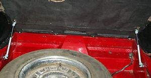 MGB,C & V8 GT boot floor gas strut kit
