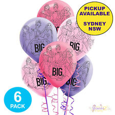DISNEY PRINCESS DREAM BIG BIRTHDAY PARTY PACK OF 6 HELIUM LATEX BALLOONS