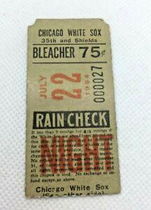 1964 July 22 Chicago White Sox v L.A. Angels Floyd Robinson Photo Ticket Stub