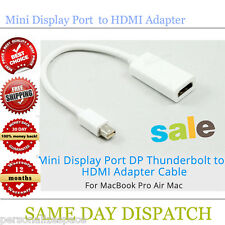 Mini Display Port DP Thunderbolt to HDMI Adapter for MacBook Pro Air Mac