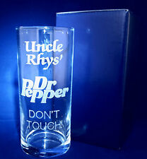 PERSONALISED ENGRAVED DR PEPPER GLASS FATHERS DAY ANY NAME MESSAGE GIFT BOXED