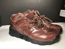 New Balance ML875BB  Trail Sz 8  Brown Leather