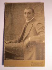 Marktredwitz - 1913 - Albert Harbauer als sitzender Mann im Anzug / KAB