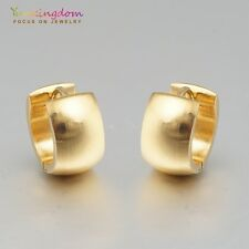 Gold Color Gold Plated Lady Girl Fashion Ear Jewelry Hoop Earrings Ear Stud