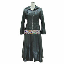 Kingdom Hearts II 2 True Organization XIII Darkness Coat Uniform Cosplay Costume