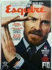 Esquire Dec Jan 2017 Michael Fassbender Mavericks of Style FREE SHIPPING sb