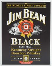 Tin Sign Jim Beam Black Label - poster vintage plaque home decor alcohol pub