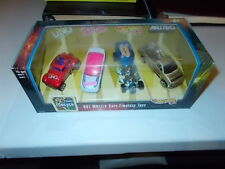HOT WHEELS 50 YEARS FOREVER 1998 TIMELESS TOYS SET 4 CARS BARBIE