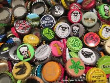 Lot of 500+ Used Beer Bottle Caps Mixed Variety-- NO DENTS--