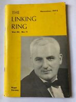 LINKING RING VOL 52 NO 11 FEATURING HUGO FURNEY '72 / Vintage Magic Publication
