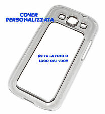 PRINT PERSONALIZED COVER FLIP COMPATIBLE SAMSUNG GALAXY S3 TRANSPARENT