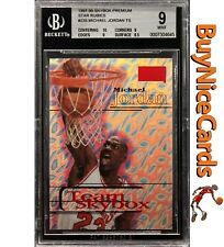 1997-98 Michael Jordan Skybox Premium Star PMG Rubies #235 BGS 9 Pop 5