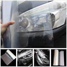 Car SUV Headlight Transparent Vinyl Wrap Film Sheet Overlay Decal Sticker Cover