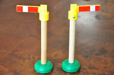 THOMAS TANK ENGINE WOODEN RAILWAY - Pair of street lamp accessories - Excellent