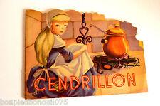 LIVRE ENFANT CENDRILLON - ILUSTRATIONS JACQUELINE GUYOT