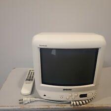 "SONY Trinitron KV-9PT50 9"" CRT Television Color Retro Gaming TV VTG W/ Remote"