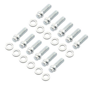 Mr. Gasket 6091 Intake Manifold Bolts 12 Point Small Head
