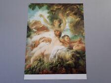 affiche, peinture de J.H Fragonard : les Baigneuses