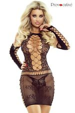 Robe résille sexy Provocative Lingerie, noir, neuf, livraison gratuite GANTS