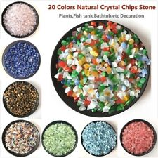 Natural Crystal Gravel Mixed Minerals Chips Healing Stone Crystal Decoration