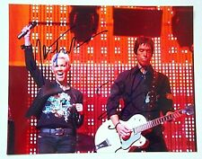 ROXETTE / SIGNED BY 2 / SIGNED 8X10 CELEBRITY PHOTO / COA