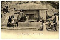 CPA 01 Ain Fontaine Napoléon Route de la Faucille animé