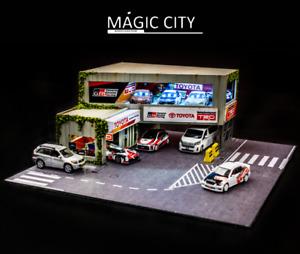 Magic City 1:64 Diorama Toyota Garage Exhibition