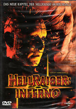 Hellraiser V , Inferno , 100% uncut , DVD Region 2 , new and sealed