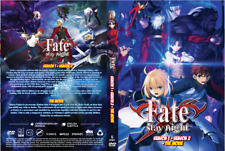 DVD ~ Fate Stay Night (Season 1 & 2 + The Movie) English Dubbed & Subtitles