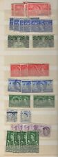 GB - Stock book mix of QE2 used pre-decimal commemorative postage stamps to 1966
