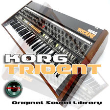 KORG TRIDENT Original Multi-Layer WAV/KONTAKT Samples Sound Library on CD