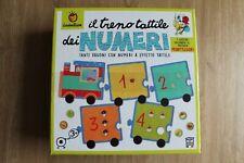 Ludattica Il Treno Tattile dei Numeri Giochi Educativi con il Metodo Montessori