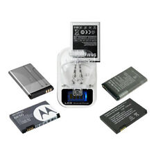 NEW Universal LCD Mobile Cell Phone Battery Wall Travel Charger with USB-Port MI