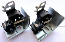 2 x RENAULT MEGAN II SCENIC GRAND REAR EXHAUST MOUNT HANGER BRACKET REPAIR