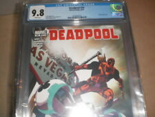 DEADPOOL 24 CGC 9.8 DEADPOOL IN THE MCU MOVIES 8/10 GRIZZLY APPEARANCE