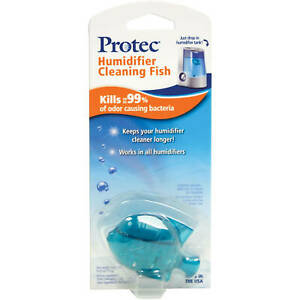 NIB PROTEC HUMIDIFIER CLEANING FISH PC1F LOT OF 4