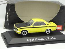 Schuco 1/43 - Opel Manta A Turbo Jaune