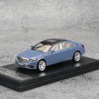 Master 1/64 Mercedes-Benz Maybach S-Class S680 Diecast Car Model Collection Blue