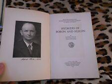 Hybrides of boron and silicon - Alfred Stock - Cornell University Press, 1933