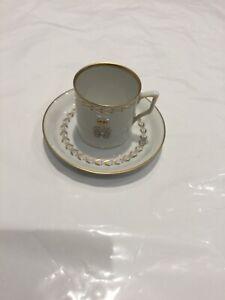 Royal Copenhagen Flora Danica Coffeecup and Saucer No 051/052