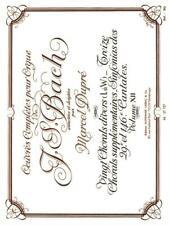 Oeuvres Complètes Pour Orgue Volume 12 20 Chorals Divers (L à W), 13 Chorals sup